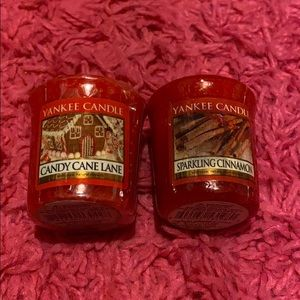 Christmas Yankee Candle Votive Candles
